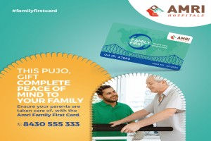 This festive season, avail AMRI Hospitals' Family First Card offering holistic healthcare privileges