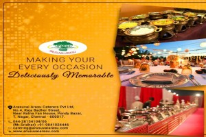 The Best Event Caterers and Wedding Vegetarian Catering Services in Chennai