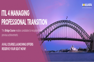 Announcement for latest ITIL4 Managing Professional Course
