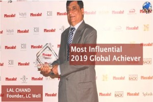 Lal Chand Gets Global Achiever award at Masala's, Most Influential Awards 2019