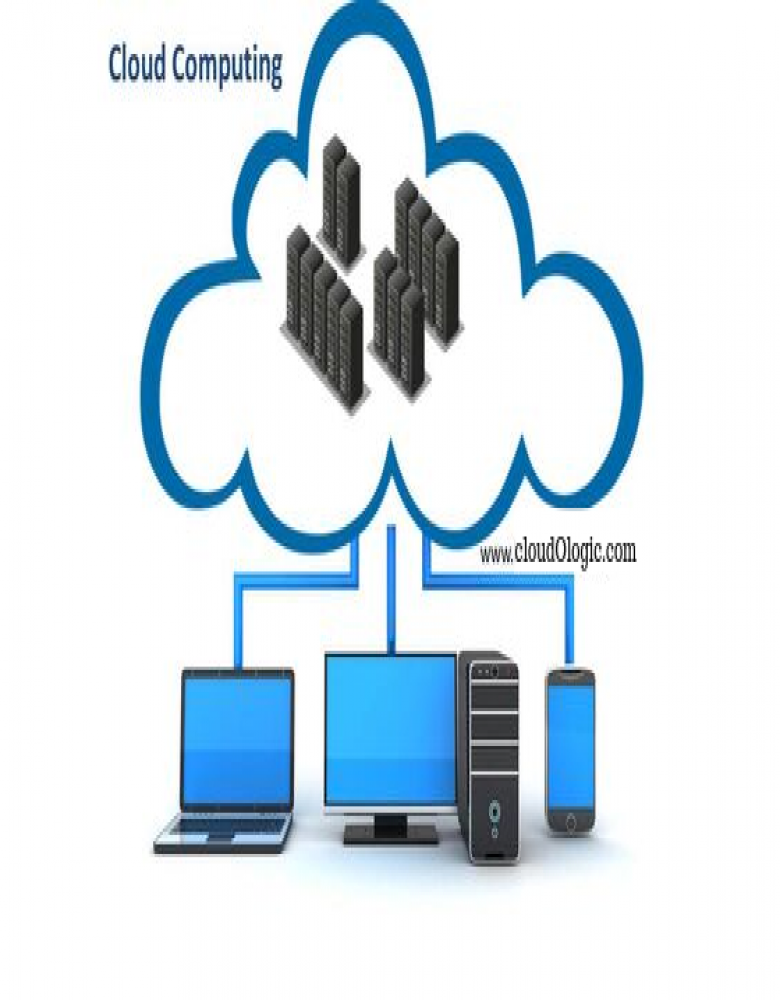 What is cloud computing? And cloud computing example