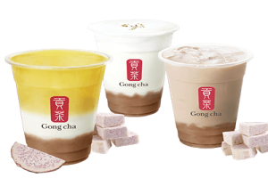 Gong Cha Is Now In Zion Market Texas With New Exciting Fresh Taro Series