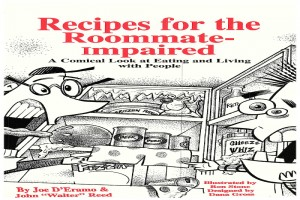 Millis Man Releases 1993 Title Recipes for The Roommate-Impaired as Kindle ebook