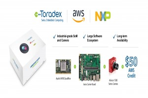 Toradex collaborates with Amazon Web Services and NXP to release Apalis AI Vision Starter Kit for the i.MX 8 Applications Processor
