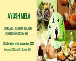 Virtual Ayush Mela from 30th October to 1st November