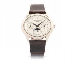 Patek Philippe Reference 3940 Men's Watch Hits $50,150 in Miller & Miller's Watches & Jewelry Auction