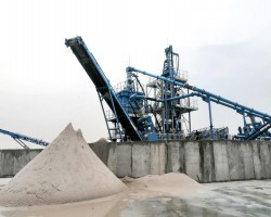 High Purity Silica Sand Processing Line in Pakistan