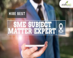 THE BEST SME SUBJECT MATTER EXPERT PROVIDERS IN THE MARKET!