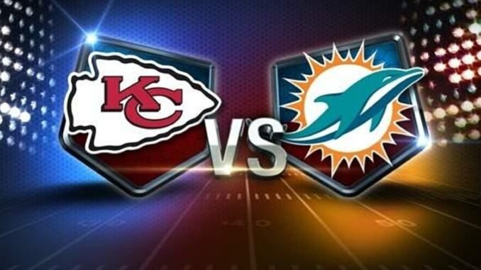 Cheifs win over Dolphins
