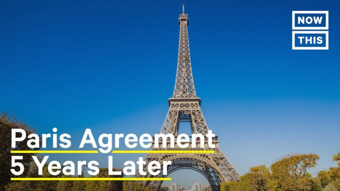 The Paris Agreement 5 years