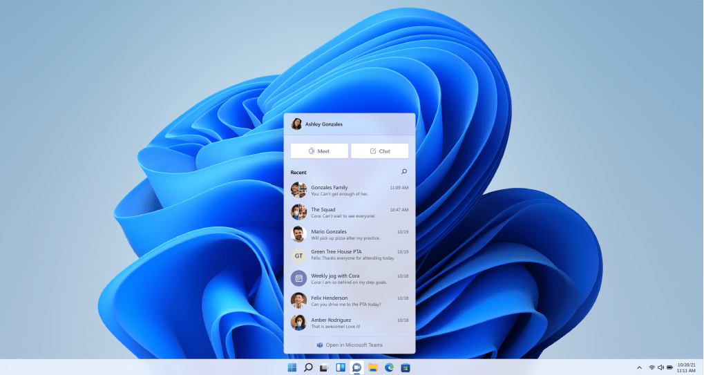 We've had a clearer look at Microsoft Teams 2.0